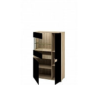 Шкаф с витриной МН-026-03
